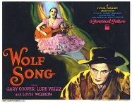WOLF SONG ( POSTER )