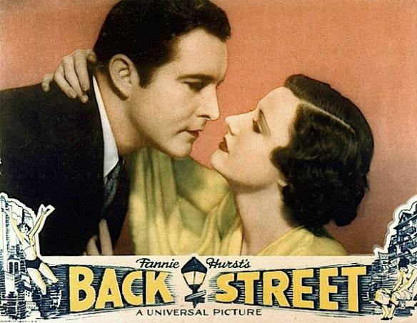 BACK STREET ( MOVIE POSTER )
