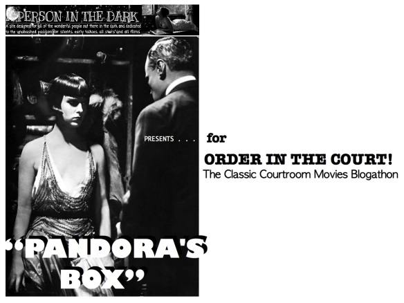 COURTROOM BLOGATHON ( %22PANDORA'S BOX%22 )
